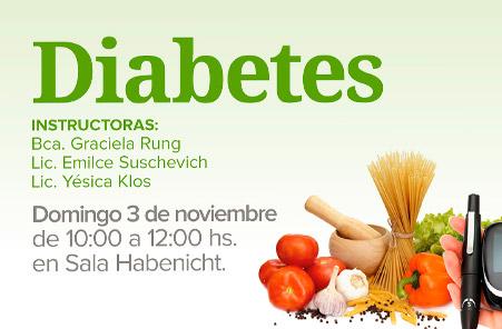 Taller de Nutrición sobre Diabetes
