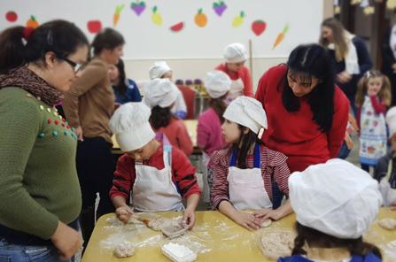 Se realizó el Taller de Cocina para niños